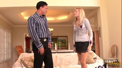 Nice Blonde Loves Hardcore Penetration - scene 1