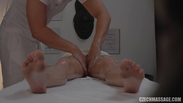 Blonde Needs Massage