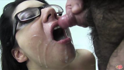 Slut With Glasses Is Addicted To Cum - scene 11