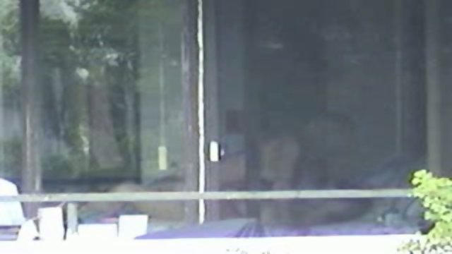 Voyeur recorded neighboors fucking in front of the window