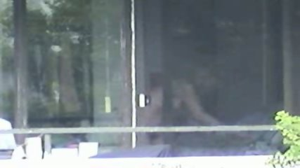 Voyeur recorded neighboors fucking in front of the window - scene 7