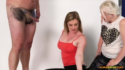 Mature Lady Shows How To Use A Dick - scene 12