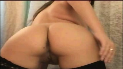 Perfect brunette gives a webcam show - scene 9