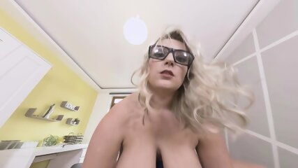 Busty Girl With Glasses Gets Pounded