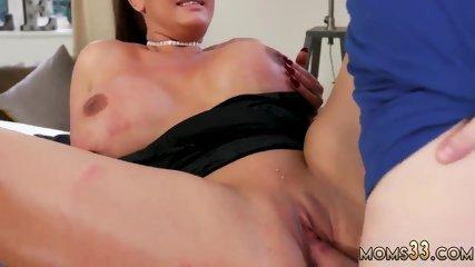 Edging massive cumshot Big Tit Step-Mom Gets a Massage