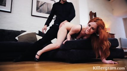 Stunning Redhead Filled With Sperm - scene 9