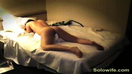 Pretty girl humps her pillow - scene 12