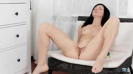 Pink Dildo Stimulates Her Pussy - scene 6
