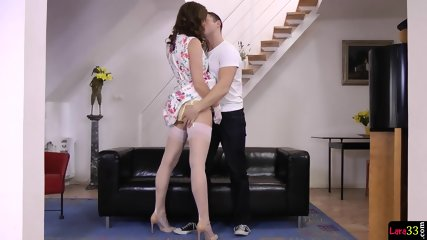 English MILF Pussyfucked By Younger Guy - scene 4