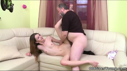 Nina Fucks With Old Guy