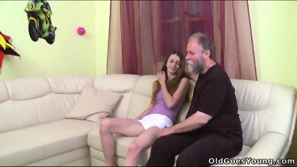 Nina Fucks With Old Guy - scene 3