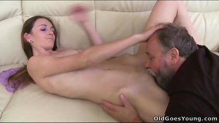Nina Fucks With Old Guy - scene 5
