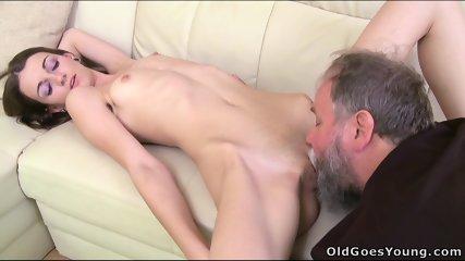 Nina Fucks With Old Guy - scene 6