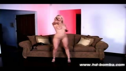 Beautiful Blonde amateur Jana dildo solo - scene 4