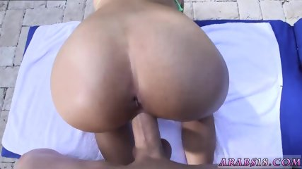 Arab ass grope first time My very first Creampie