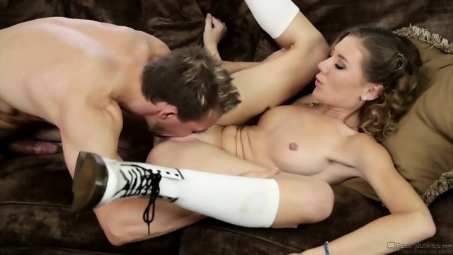 Hardcore Action With Slutty Schoolgirl - Alison Faye