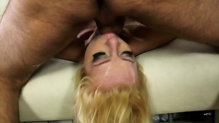 Face Fucked Blonde Whore