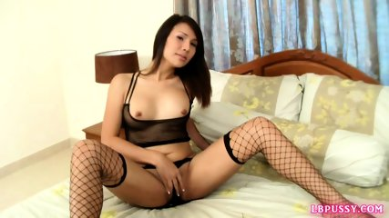 Postop Ladyboy Oil Toying Solo