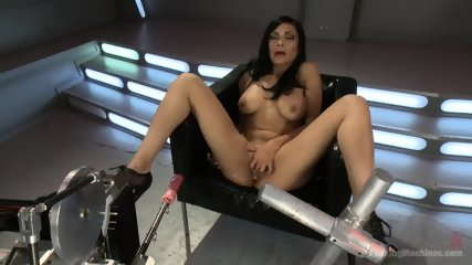 Beautiful Brunette Loves Kinky Toys - scene 4