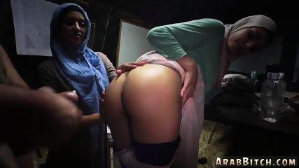 Arab sucks cock Sneaking in the Base!