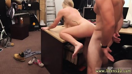 Young blonde wife Blonde bimbo tries to sell car, sells herself