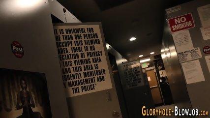 Tattooed gloryhole slut