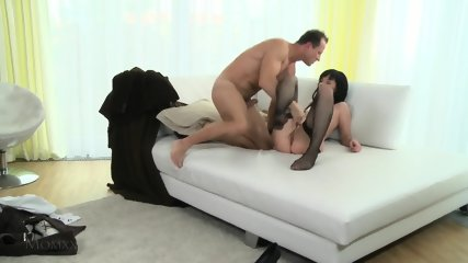 Horny Mommy With Stockings Wants Hard Dick - scene 11