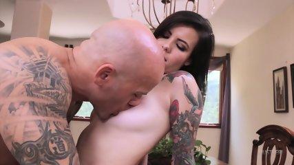 Inked Girl Gets Fucked - scene 3