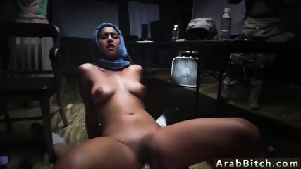 Arab girl dance on cam Sneaking in the Base!