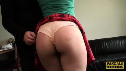 Young Busty Subslut Kloe White Facialized And Dommed Hard - scene 7