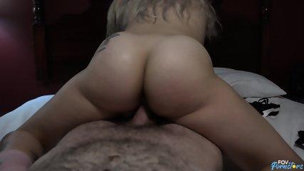 Horny Blonde Rides Dick - scene 9