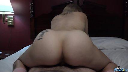 Horny Blonde Rides Dick - scene 11