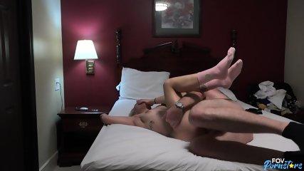 Horny Blonde Rides Dick - scene 7