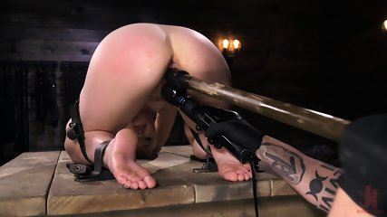 Fun With Bitch In Bondage