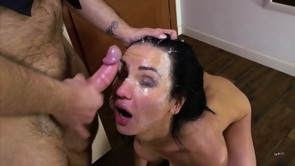 Dirty Whore Fucked In Face