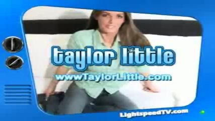 Taloy Little gives her jeans coverd vagina an extreme orgasm - scene 1