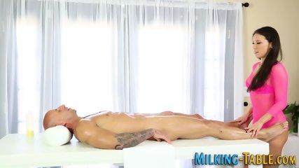 Plowed masseuse cum dump
