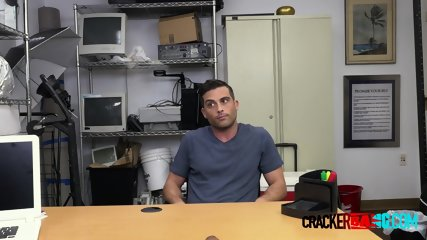 Recognized dude comes in for interview with horny director