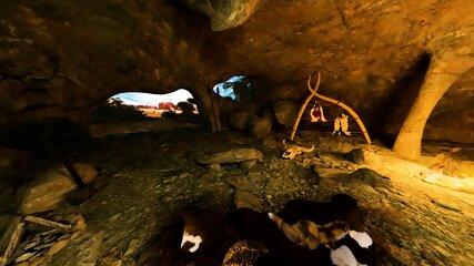 Prehistoric Fuck In Cave - scene 2