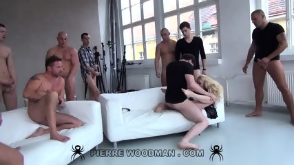 Lola Taylor Serves Group Of Elated Cocks - scene 8