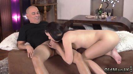 Old man footjob first time Kittina Ivory and her older boycompanion Fernando