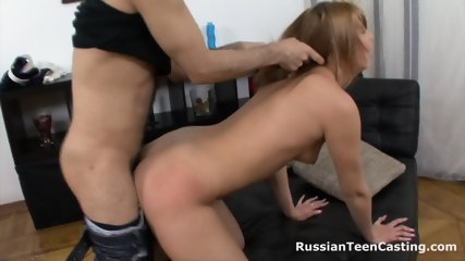 Russian Amateur Gets Banged Hard