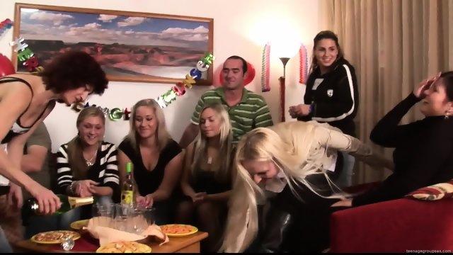 Party Sluts In Action