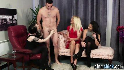 Cock tugging mistresses
