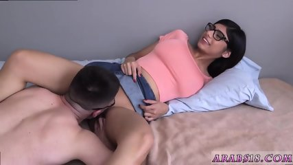Mature sensual blowjob and anal facial hd Mia Khalifa popped a devotees cherry!