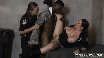 Tanned milf hd and kissing missionary creampie Fake Soldier Gets Used as a Fuck Toy