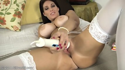 Horny Mommy Plays With Toys