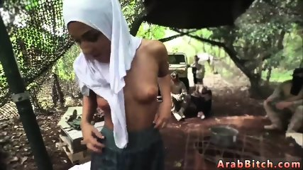Arab teen masturbating on webcam and muslim family xxx Our very own secluded camp, where