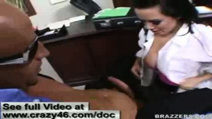 Doctor does check up on cock before fucking it hard - scene 12