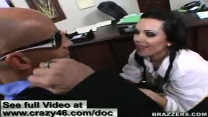 Doctor does check up on cock before fucking it hard - scene 7